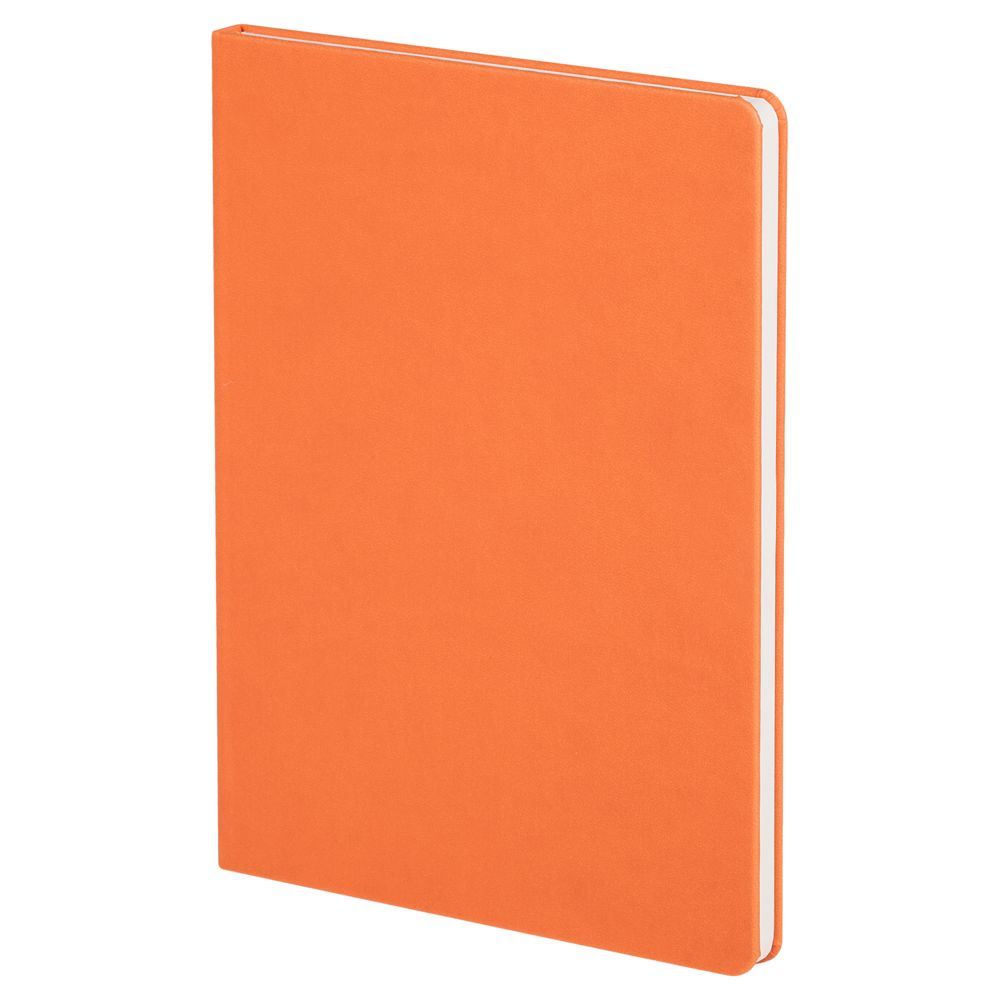 Блокнот Scope, в линейку, оранжевый, , искусственная кожа