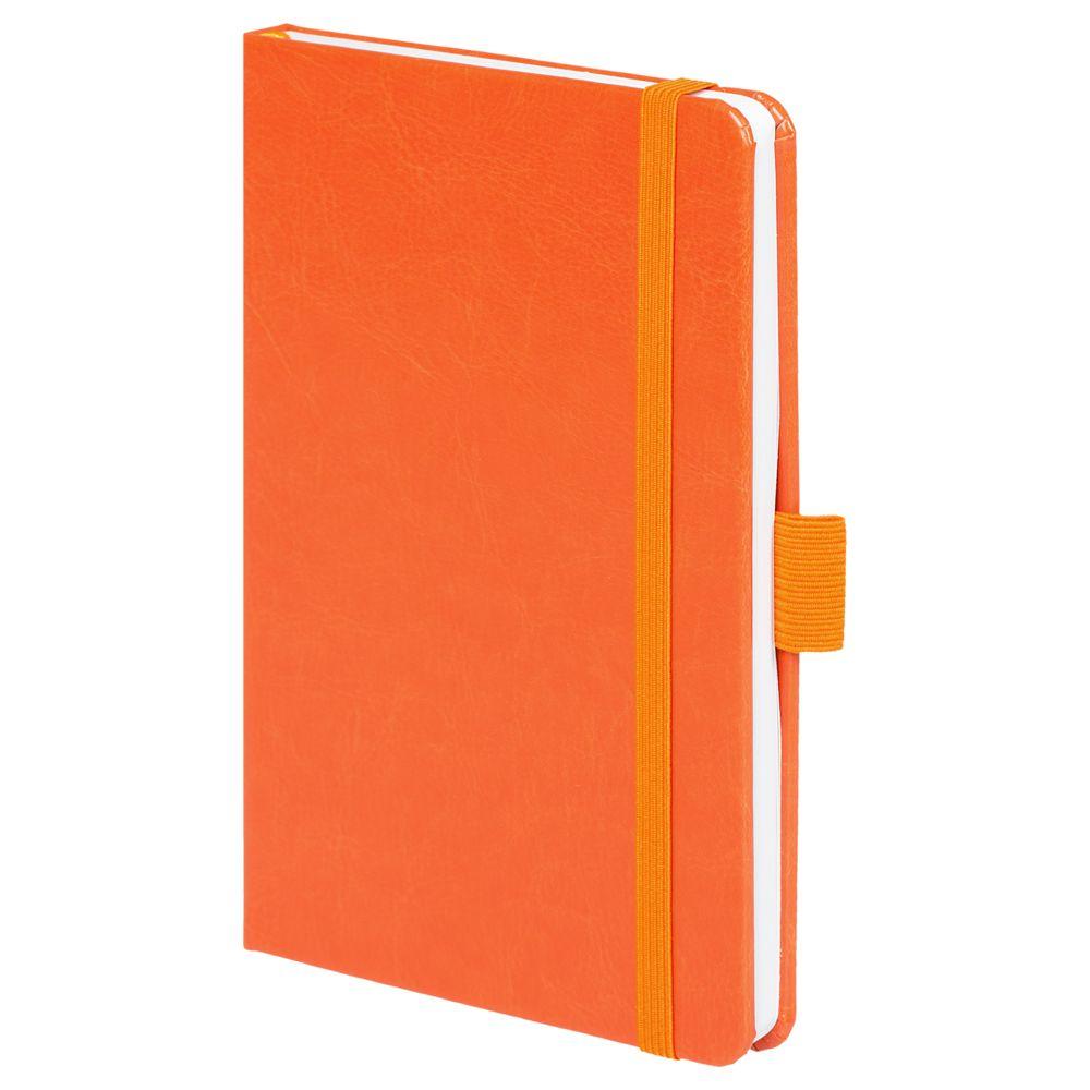 Блокнот Freenote, в линейку, оранжевый, , искусственная кожа