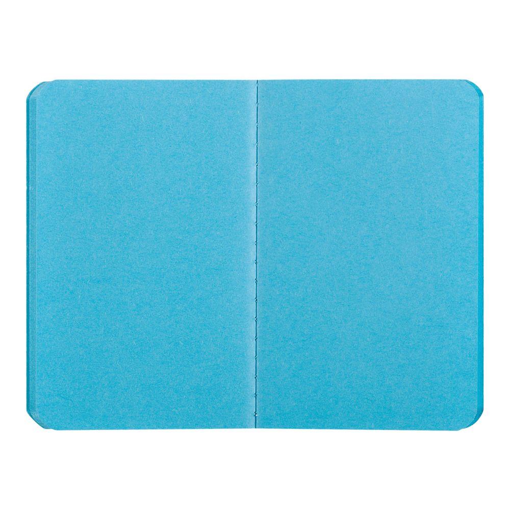 Блокнот Excentrica, черный с голубым, , бумага