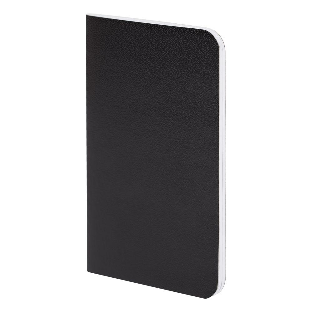 Блокнот Excentrica, черный с белым, черный, бумага