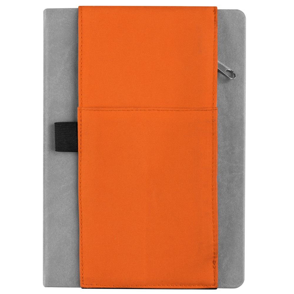 Органайзер на ежедневник Belt, оранжевый, оранжевый, полиэстер