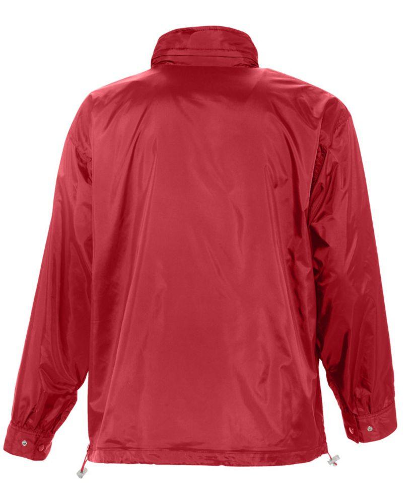 Ветровка мужская MISTRAL 210, красная, красный, нейлон 100%; подкладка - джерси