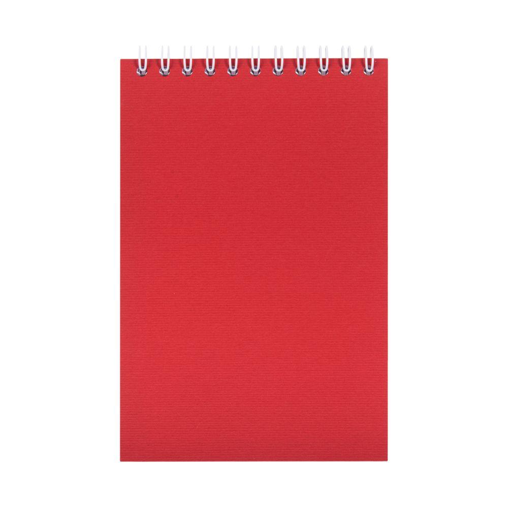 Блокнот Nettuno Mini в линейку, красный, , бумага