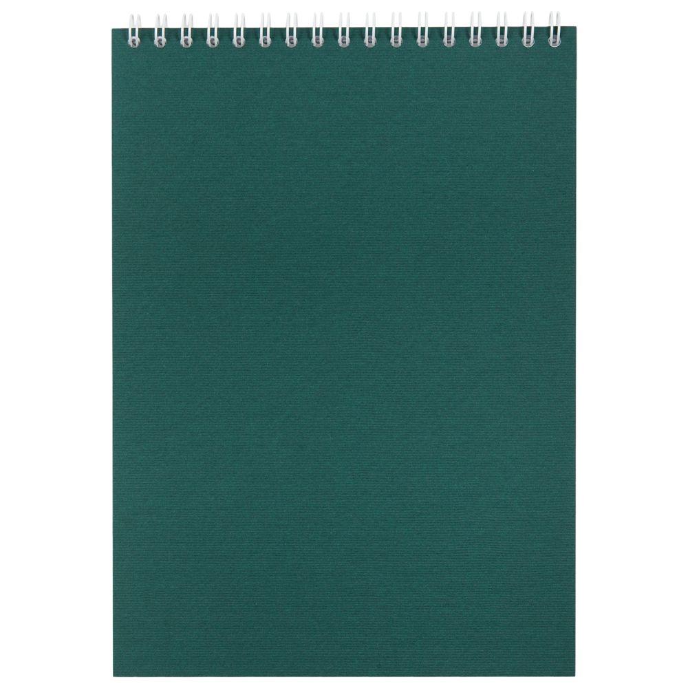 Блокнот Nettuno в линейку, зеленый, зеленый, бумага