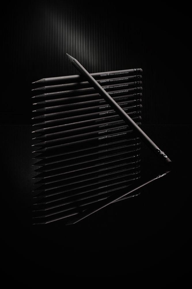 Карандаш простой Hand Friend с ластиком, черный, , дерево