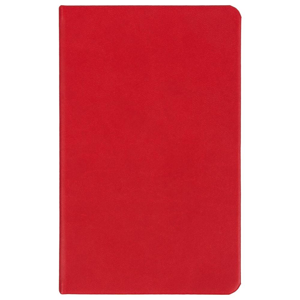 Ежедневник Basis Mini, недатированный, красный, красный, искусственная кожа