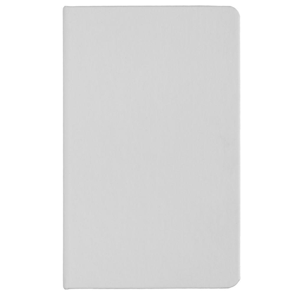 Ежедневник Basis Mini, недатированный, белый, белый, искусственная кожа