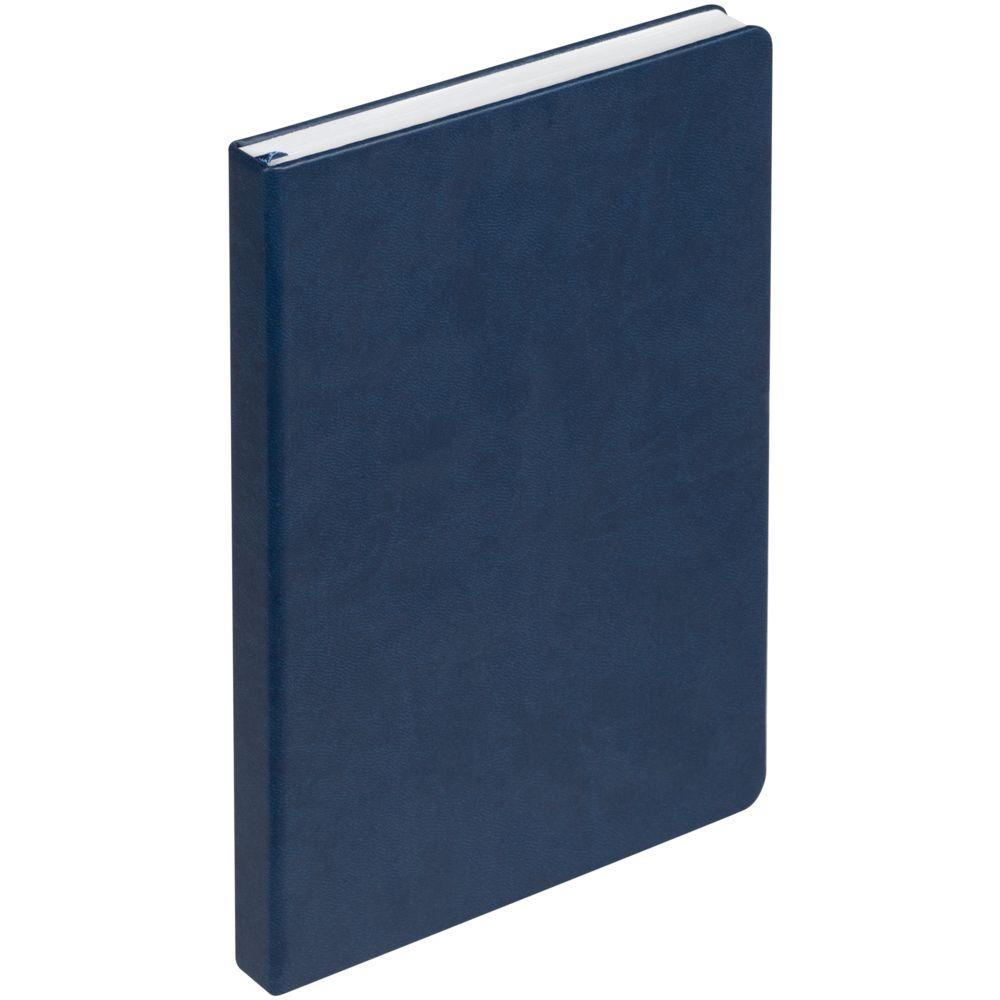 Ежедневник New Brand, недатированный, синий, синий, искусственная кожа