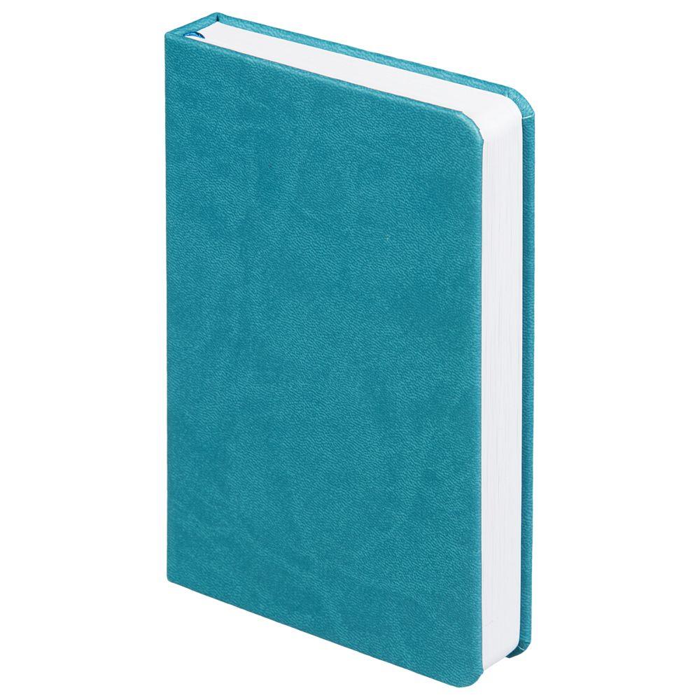 Ежедневник Basis Mini, недатированный, бирюзовый, бирюзовый, искусственная кожа