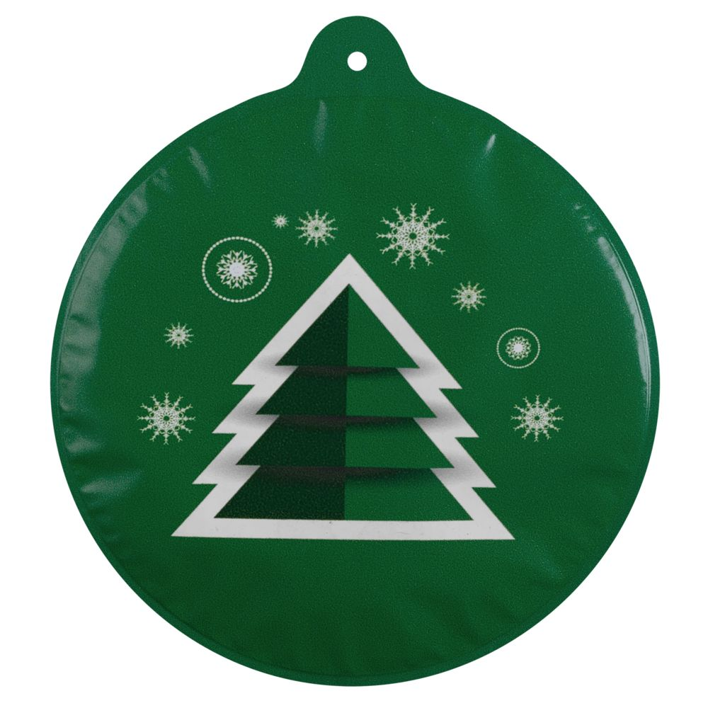 Новогодний самонадувающийся шарик «Елочка», зеленый, , пвх