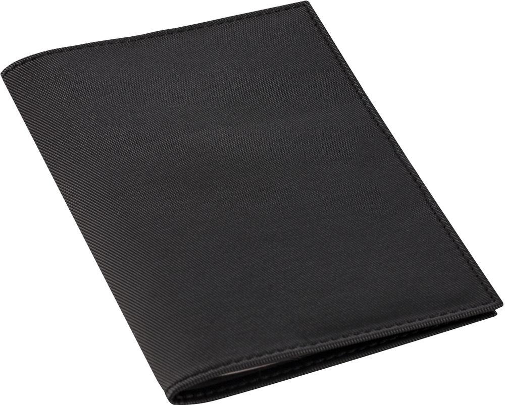 Обложка для автодокументов Twill, черная, , полиуретан