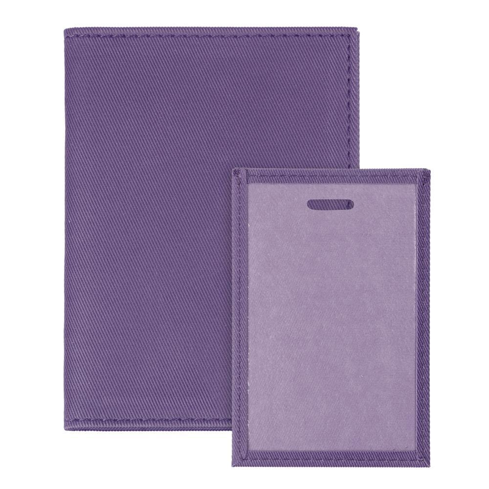 Обложка для автодокументов Twill, фиолетовая, , полиуретан