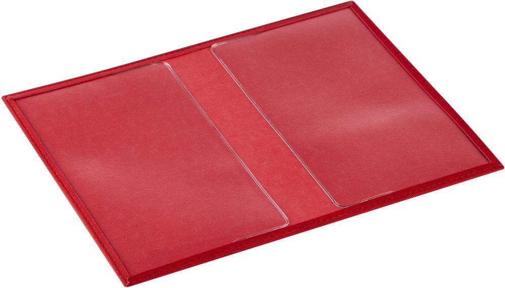 Обложка для паспорта Twill, красная, , полиуретан