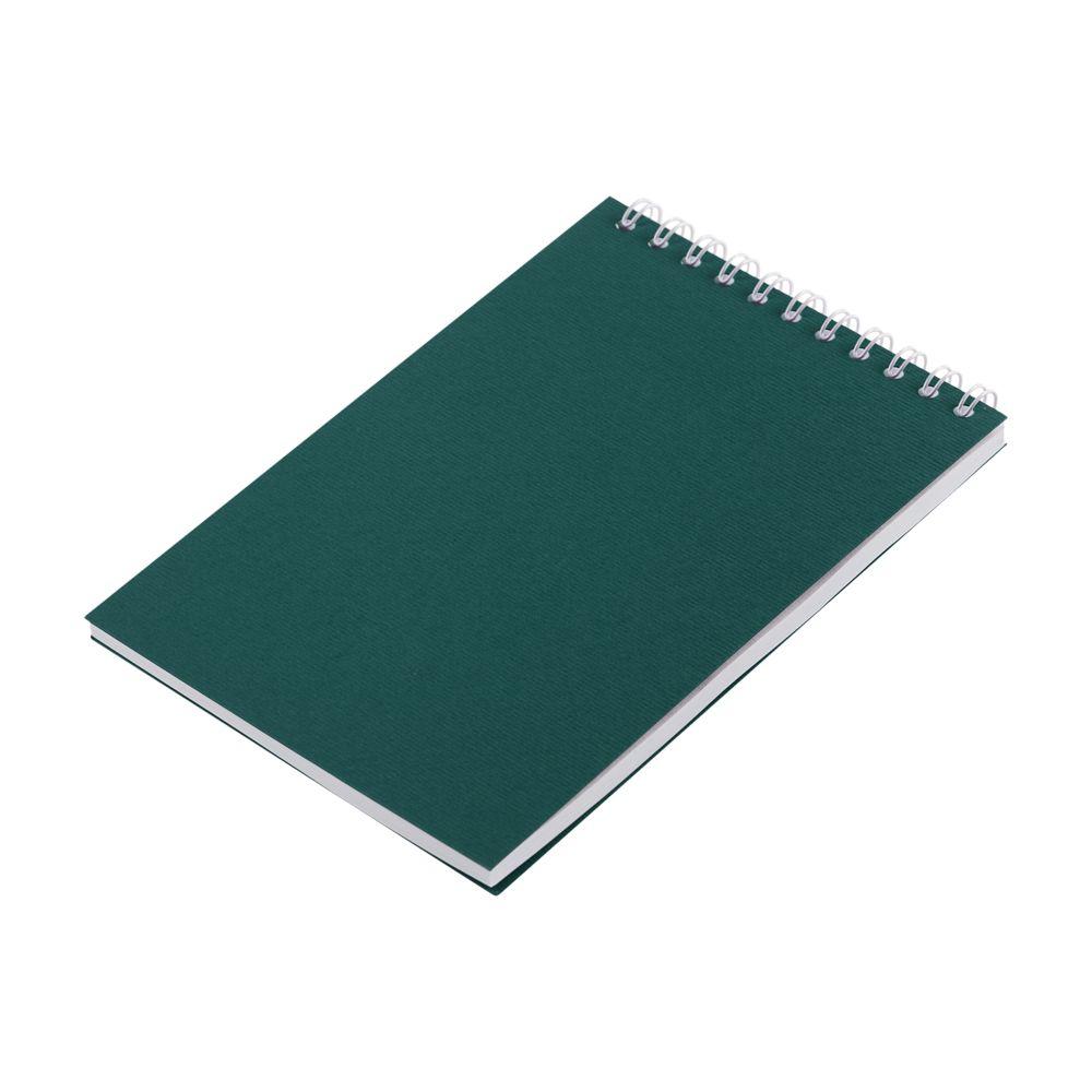 Блокнот Nettuno Mini в линейку, зеленый, зеленый, бумага