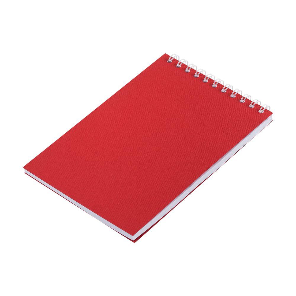 Блокнот Nettuno Mini в линейку, красный, красный, бумага