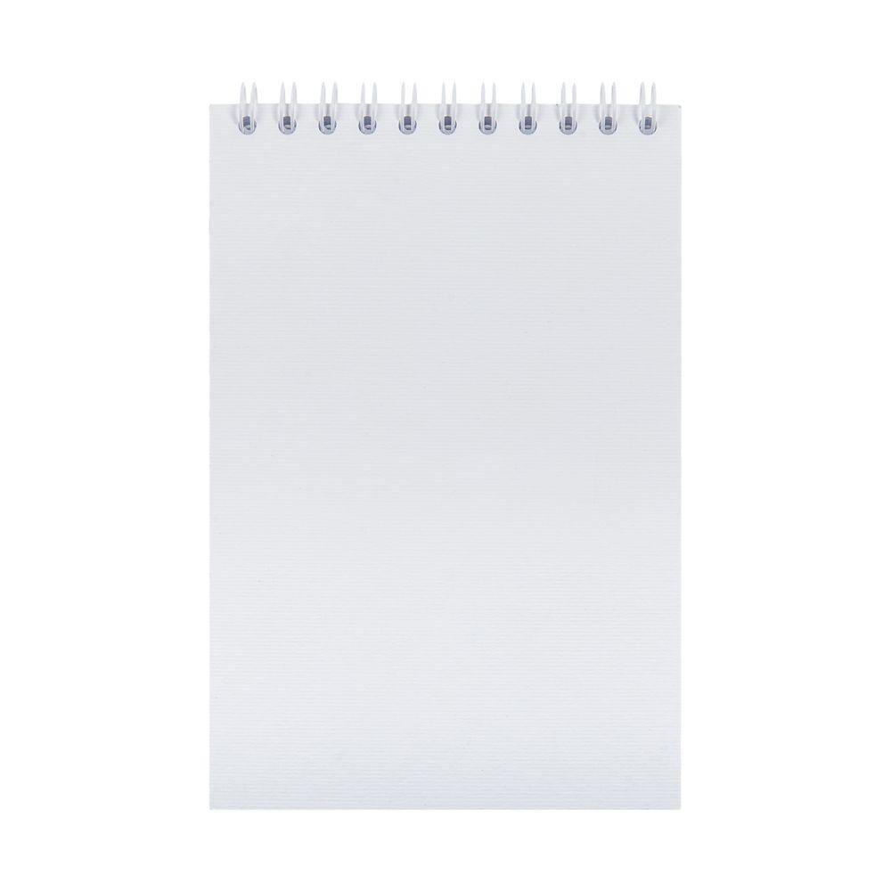 Блокнот Nettuno Mini в линейку, белый, белый, бумага