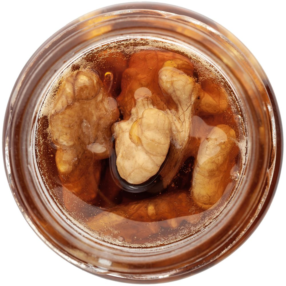 Мед Bee To Bear Mini, с грецкими орехами, , стекло