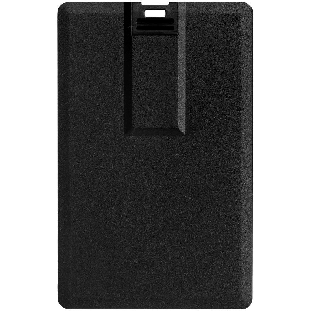 Флешка Card, 16 Гб, черная, , пластик