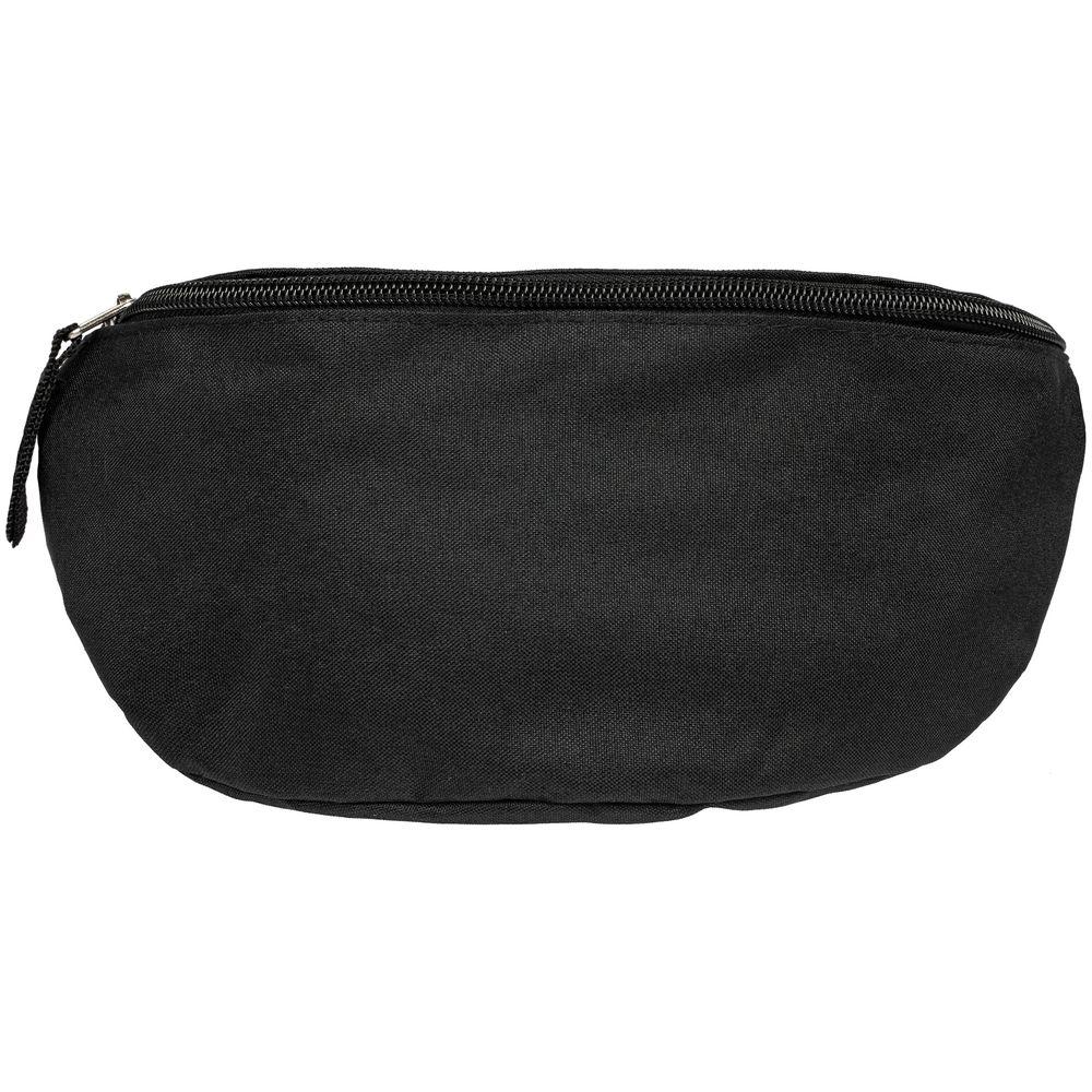 Поясная сумка Unit Handy Dandy, черная, , полиэстер, 600d