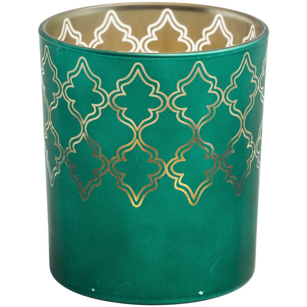 Подсвечник King, зеленый, , стекло