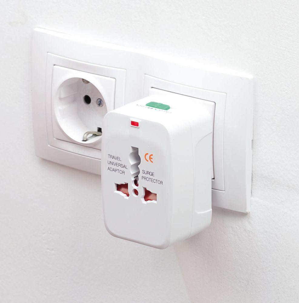 Универсальный переходник для розеток Plug In, , пластик