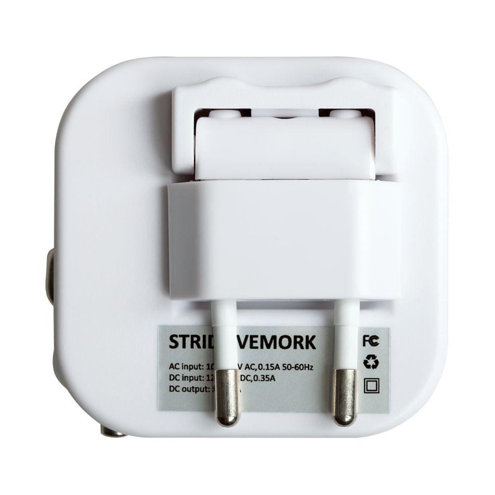 Зарядное устройство Vemork, белое, , пластик