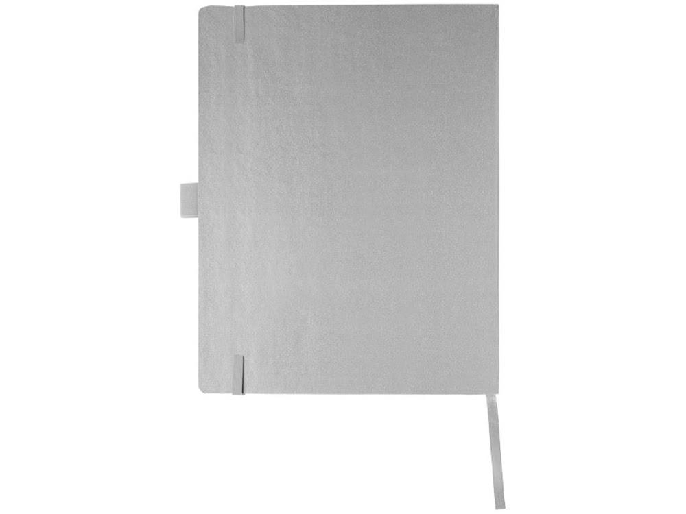 Блокнот Pad  размером с планшет, серебристый, серебристый, бумага, имитирующая кожу