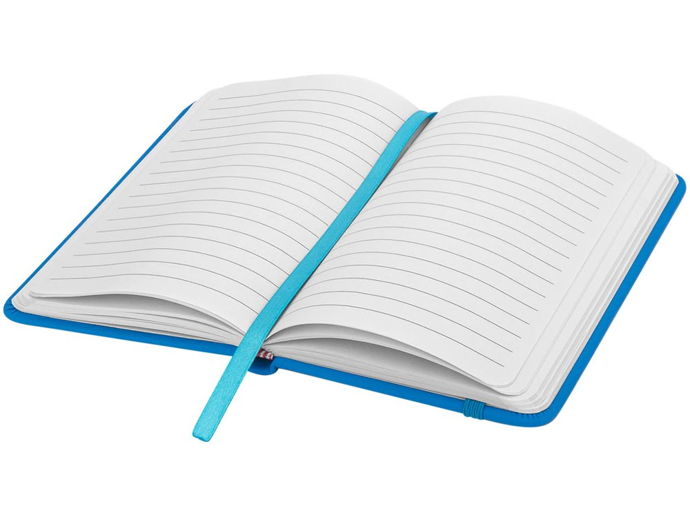 Блокнот А6 Spectrum, светло-синий, светло-синий, картон с покрытием пвх