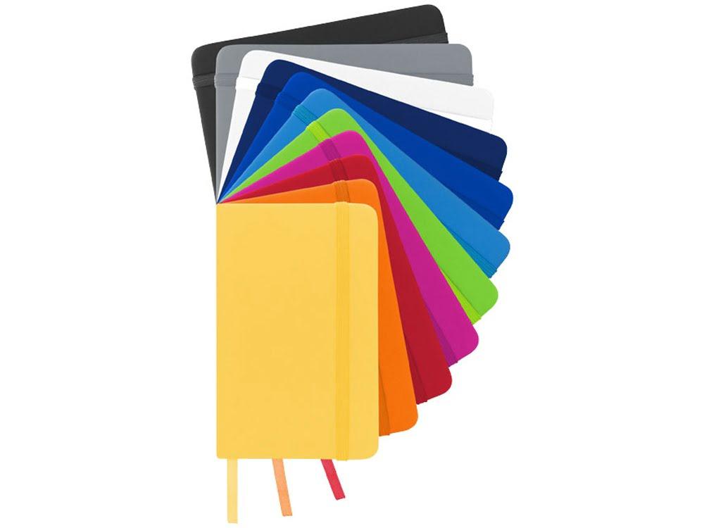 Блокнот А6 Spectrum, серебристый, серебристый, картон с покрытием пвх
