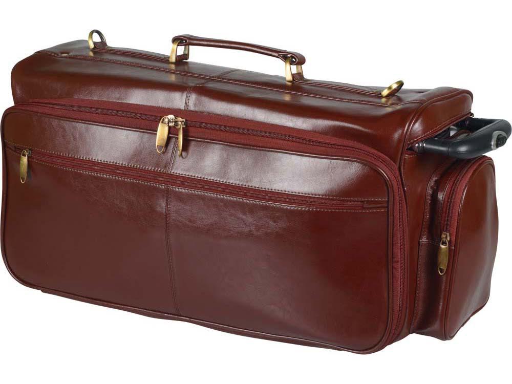 Сумка-портфель «Багамы». S.Babila, коричневый, коричневый, натуральная кожа