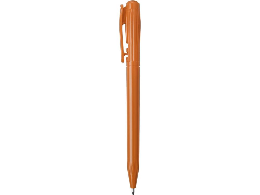 Ручкапластиковая шариковая «Stitch»,оранжевый, оранжевый, пластик