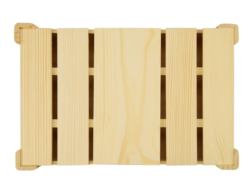 Подарочная деревянная коробка, натуральный, натуральный, дерево