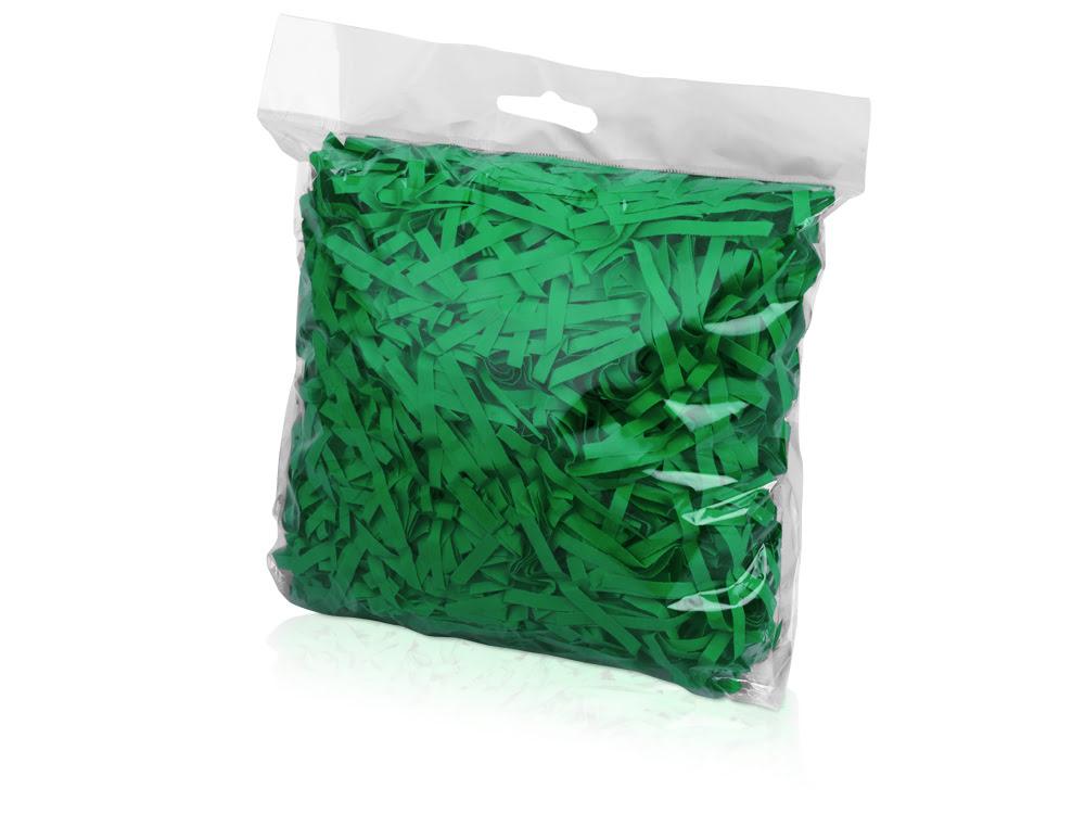 Бумажный наполнитель, зеленый, зеленый, бумага