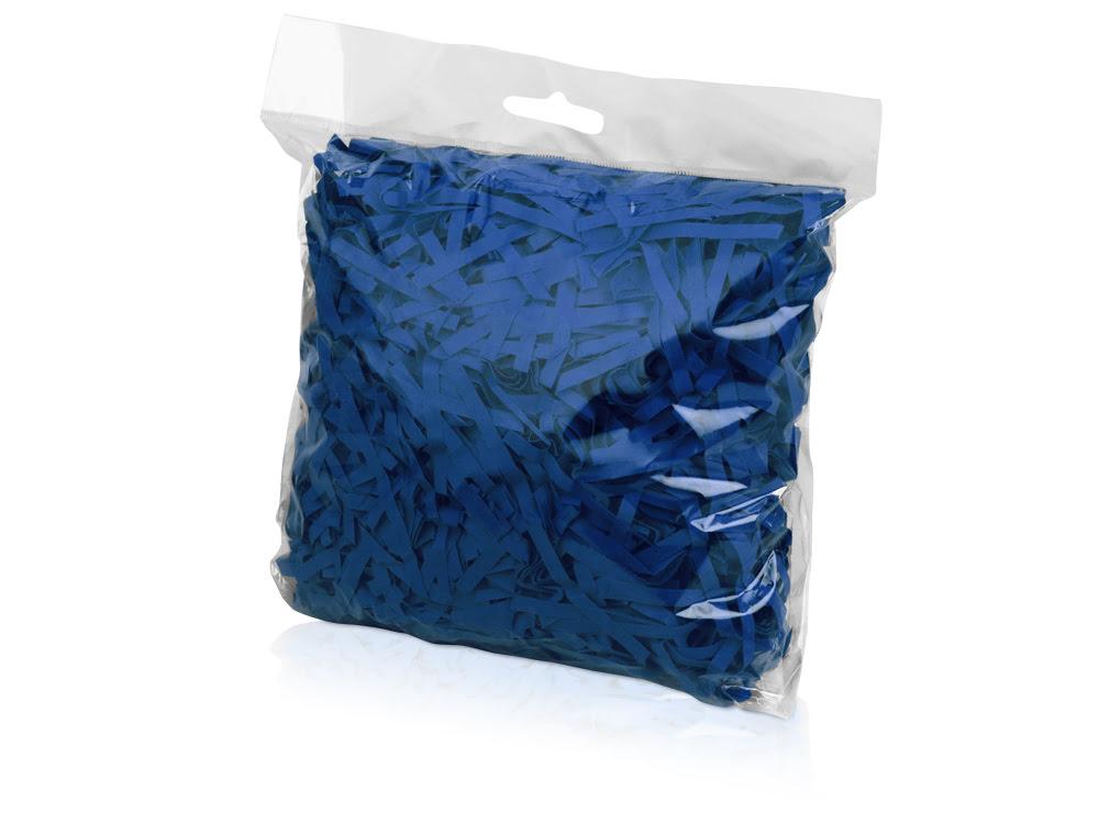 Бумажный наполнитель, синий, синий, бумага