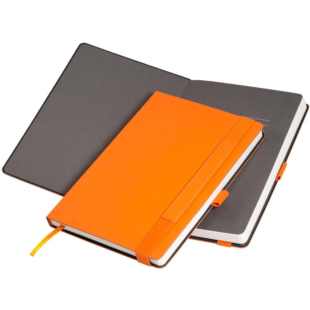 Ежедневник недатированный, Portobello Trend, Alpha , жесткая обложка , 145х210, 256 стр, оранжевый/коричневый, оранжевый,