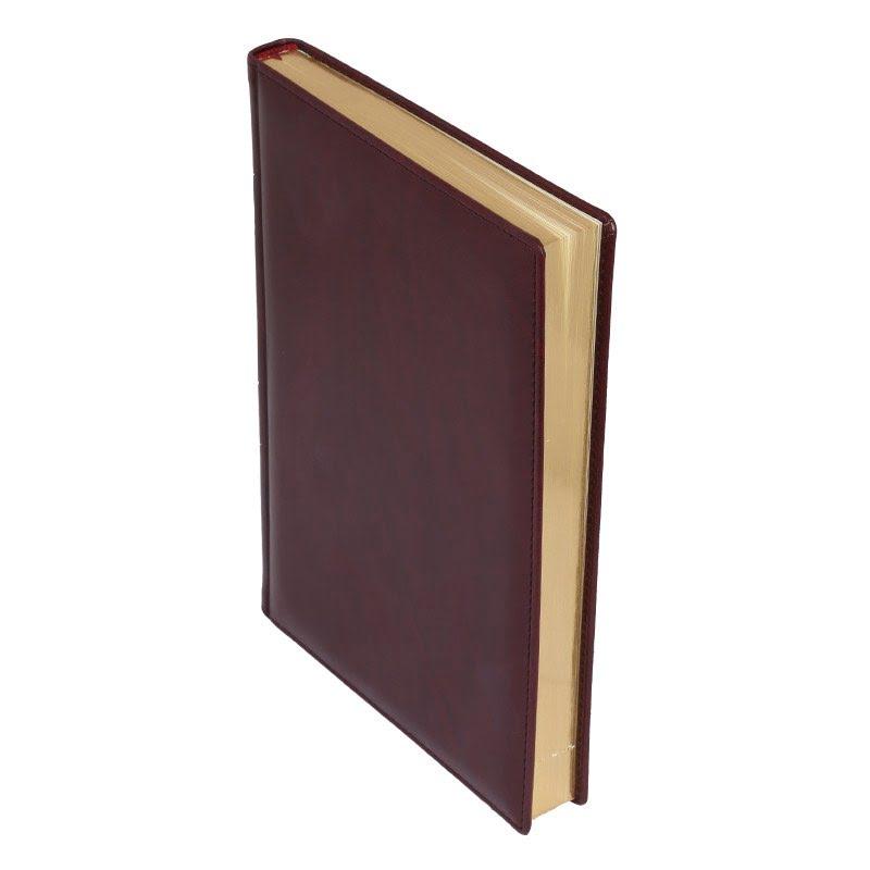 Ежедневник Madrid, А4, датированный (2020 г.), коричневый, коричневый,