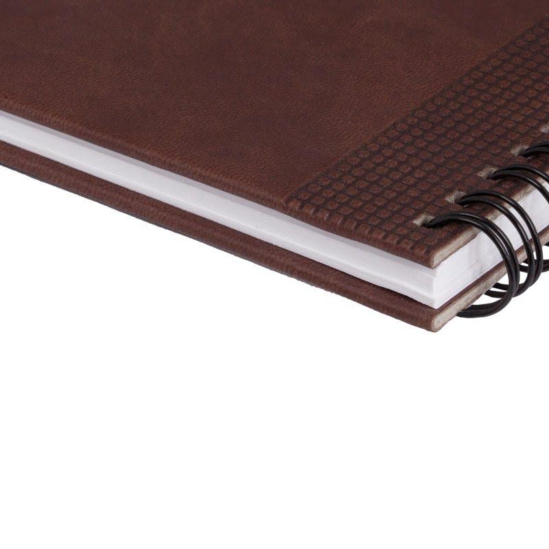 Недатированный планинг VELVET 794U(5496) 298x140 мм коричневый (ITALY), календарь до 2019 г., коричневый,