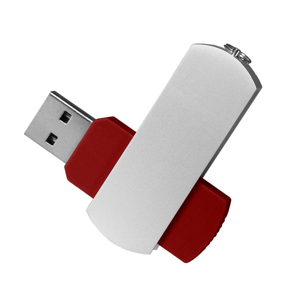 USB Флешка, Elegante, 16 Gb, красный, красный,