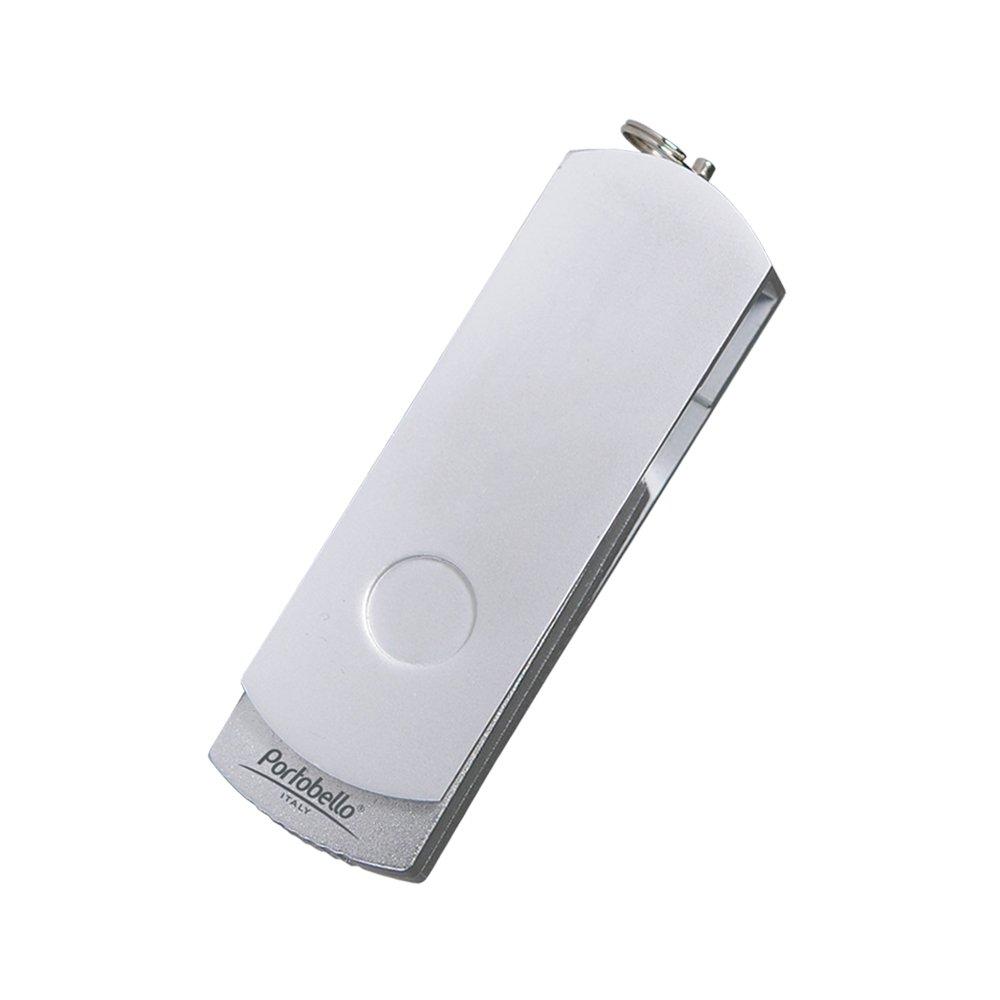 USB Флешка, Elegante, 16 Gb, серебряный, в подарочной упаковке, серебряный,