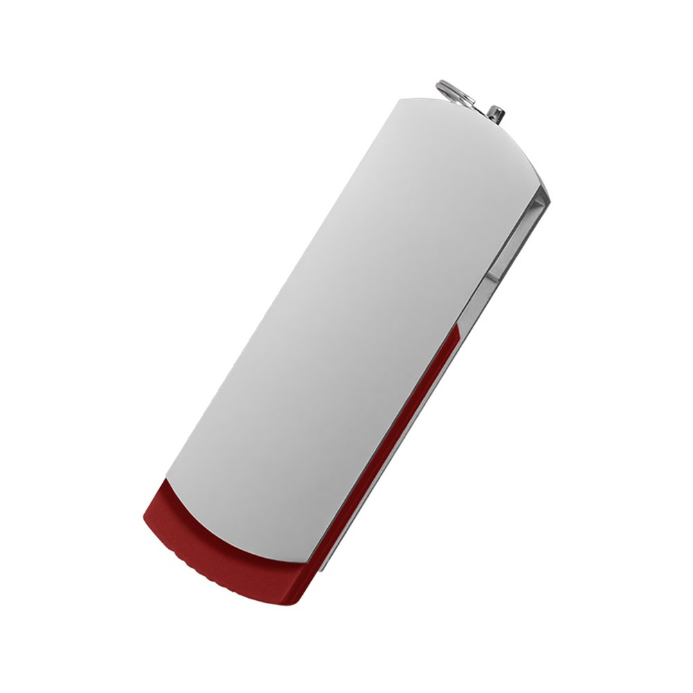 USB Флешка, Elegante, 16 Gb, красный, в подарочной упаковке, красный,
