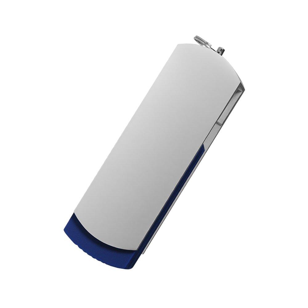 USB Флешка, Elegante, 16 Gb, синий, в подарочной упаковке, синий,