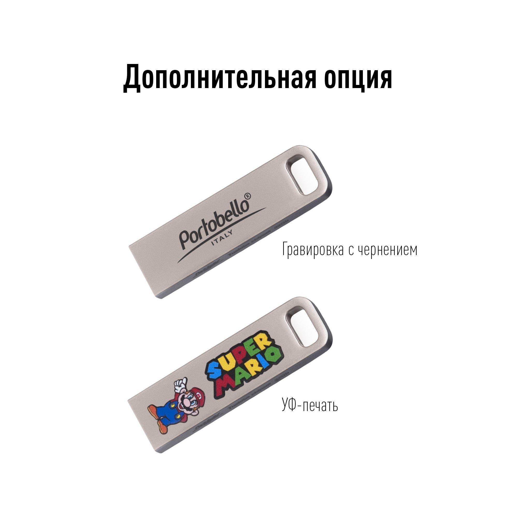 USB Флешка, Flash, 32 Gb, серебряный, серебряный,