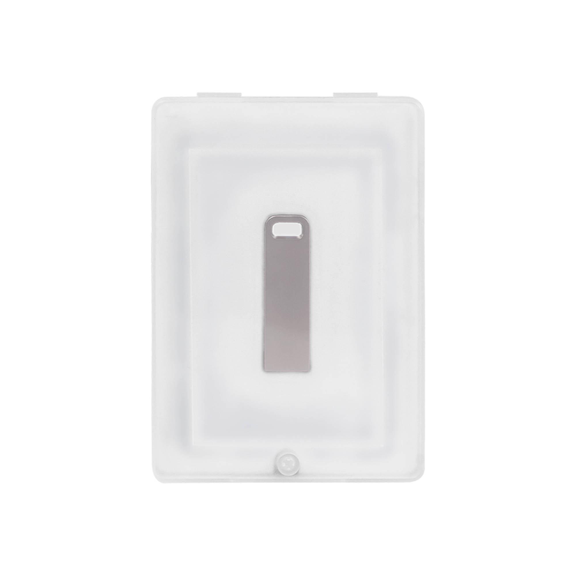 USB Флешка, Flash, 32 Gb, серебряный, в подарочной упаковке, серебряный,