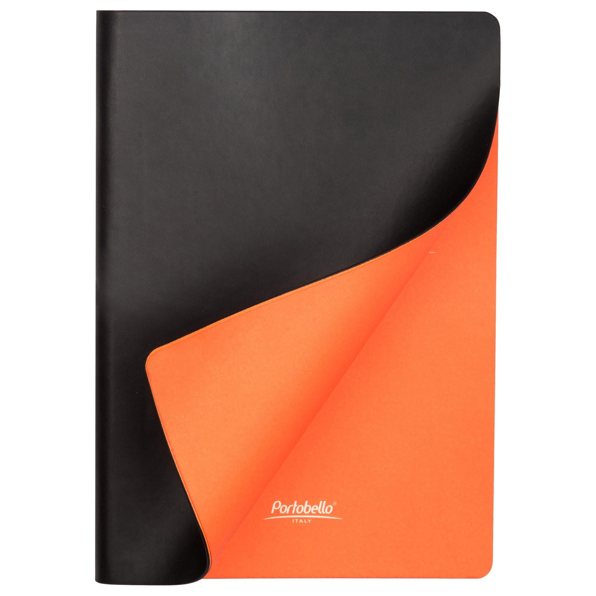 Подарочный набор Portobello/Latte черный (Ежедневник недат А5, Ручка) беж. ложемент, черный,