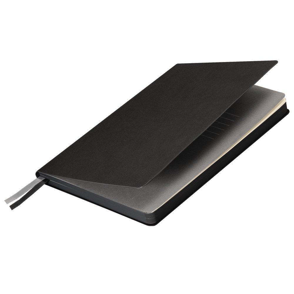 Подарочный набор Portobello/Rain черный (Ежедневник недат А5, Ручка, Power Bank), черный,