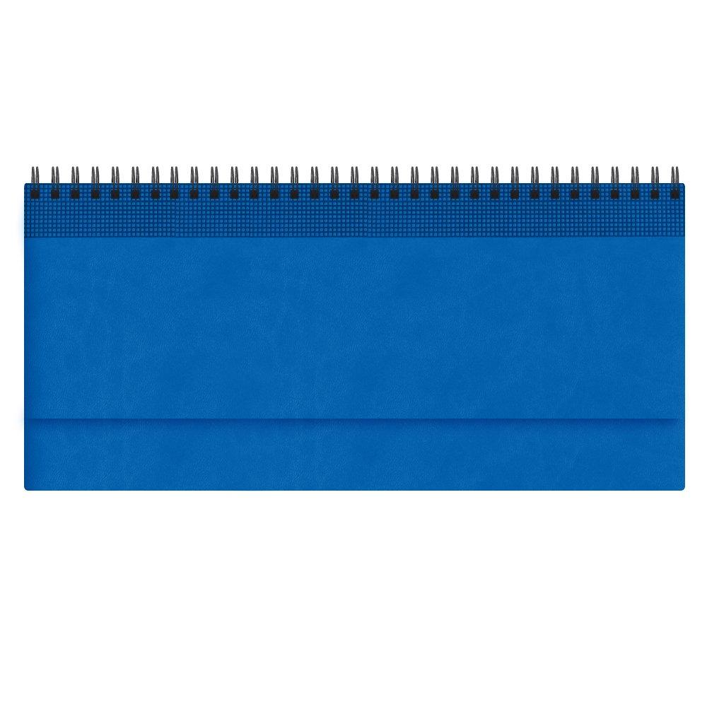 Планинг VELVET, датированный (2020 г.), светло-синий, синий,
