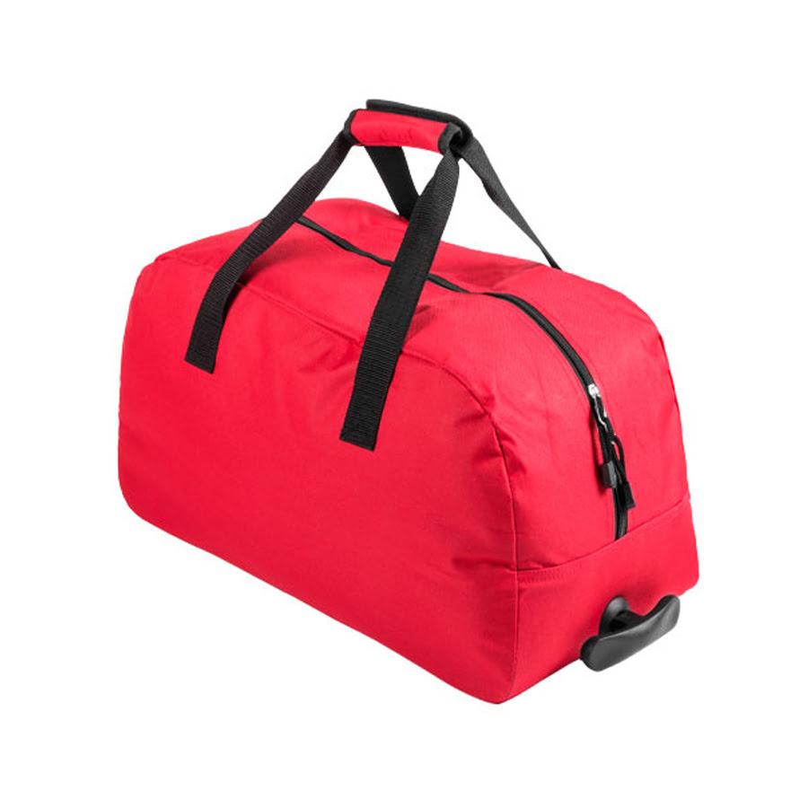 Сумка на колесиках BERTOX, красный, 100% полиэстер 600D