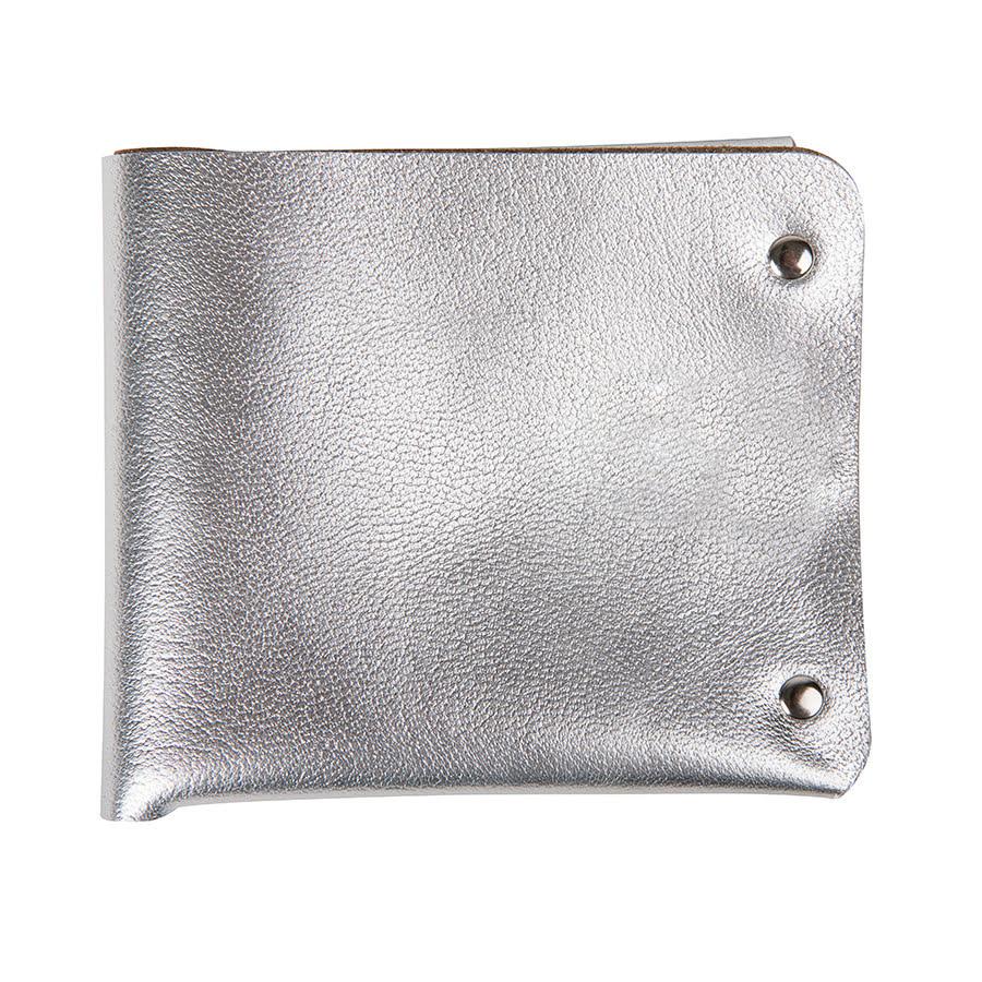 0d37c7c6346f Портмоне кожаное LOFT SILVER, серебристый, кожа
